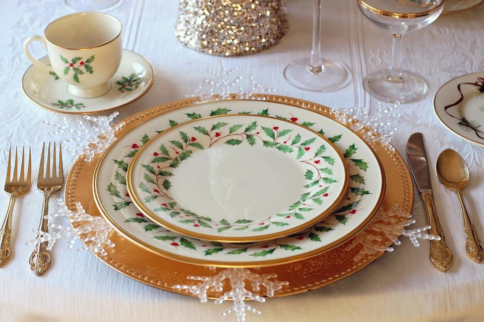 Christmas Table, Christmas Dinner, Christmas, Dinner