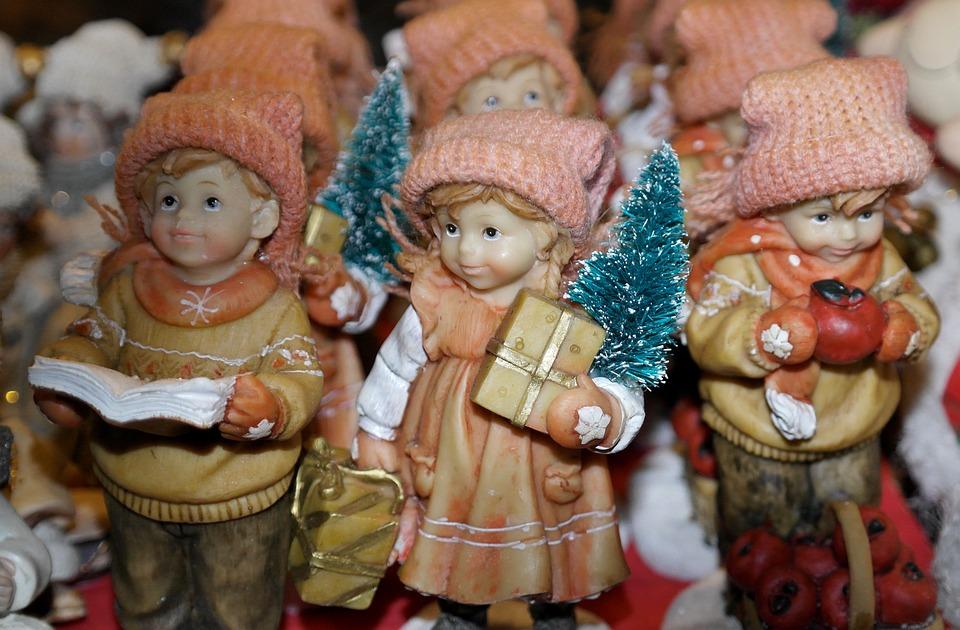 Christmas Dolls, Advent, Christmas, Porcelain