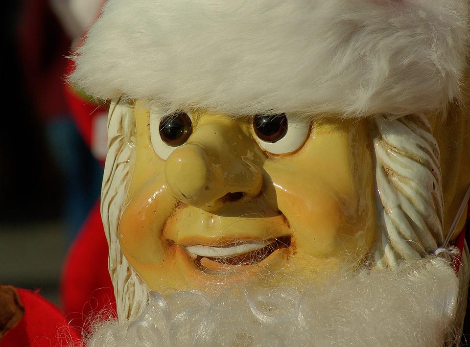 Father Christmas, Christmas, Beard, Old Man