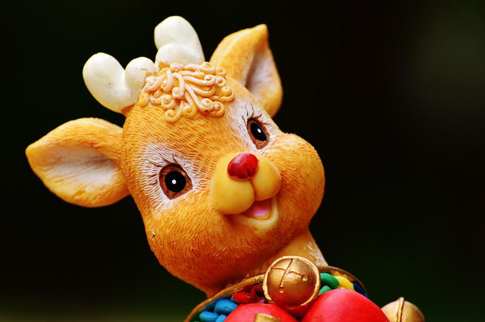 Christmas, Figure, Decoration, Nicholas, Gifts