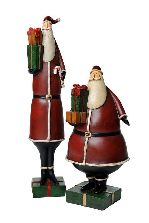 Christmas Figurines, Christmas Figure, Santa Claus