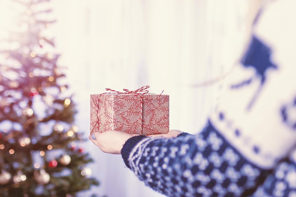 Christmas, Hand, Gift, Decoration, Xmas, Celebration