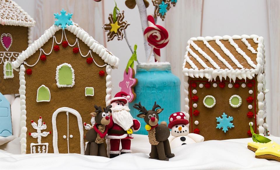 Ginger Bread, Christmas House, Christmas, Gingerbread