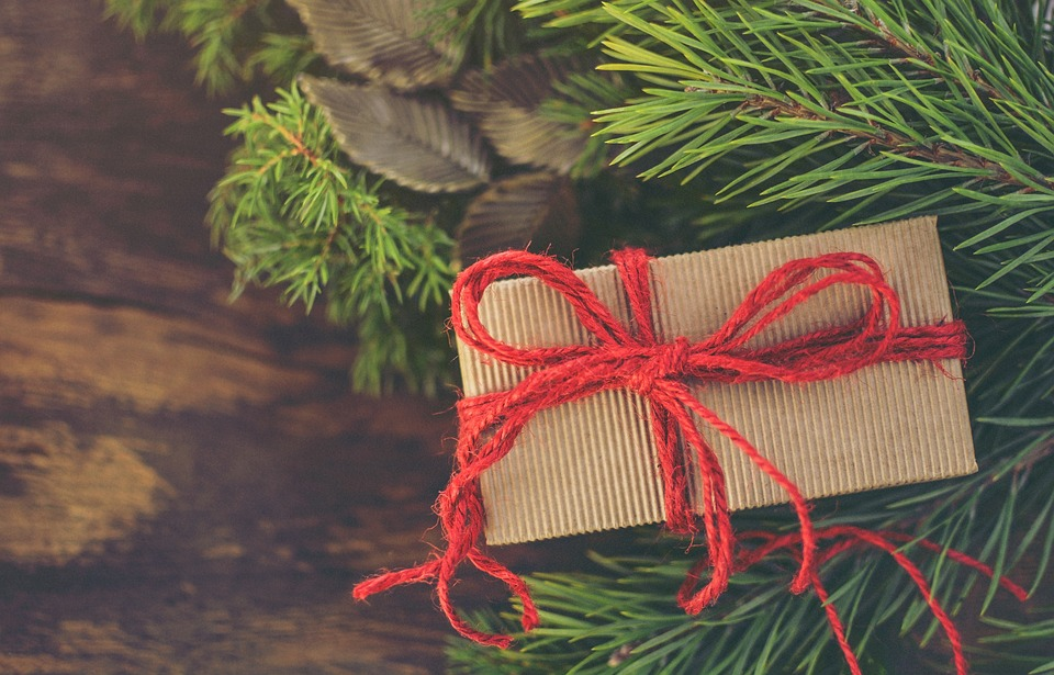 Christmas, Gift, Decoration, Present, Holiday, Box