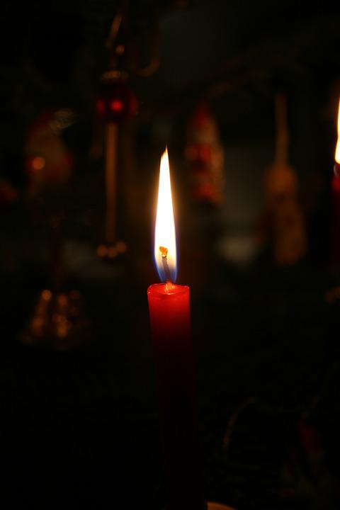 Candle, Christmas, Hope, Advent, Light, Candle Flame