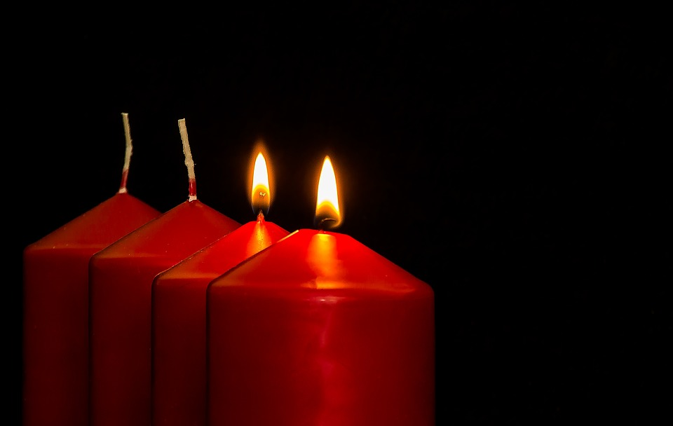 Advent, 2 Advent, Advent Candles, Christmas Jewelry