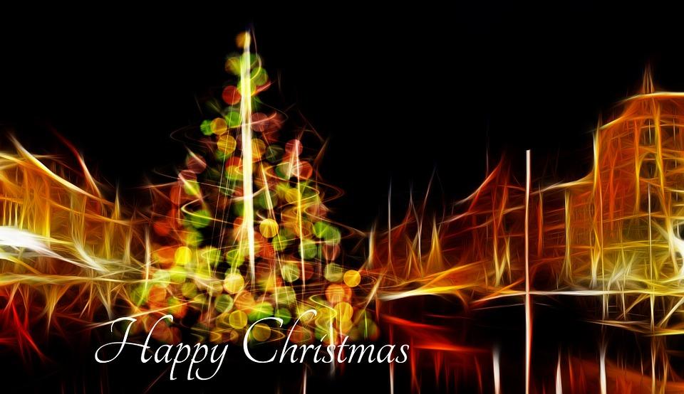 Christmas, Lights, Star, Lichterkette, Lighting