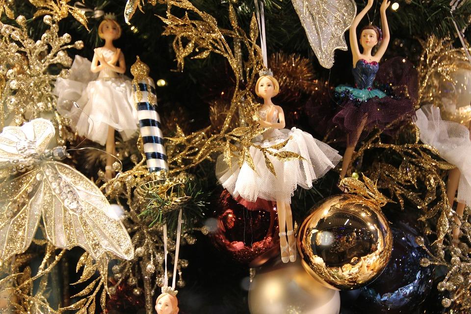 Christmas, Christmas Tree, Light, Glaskugeln