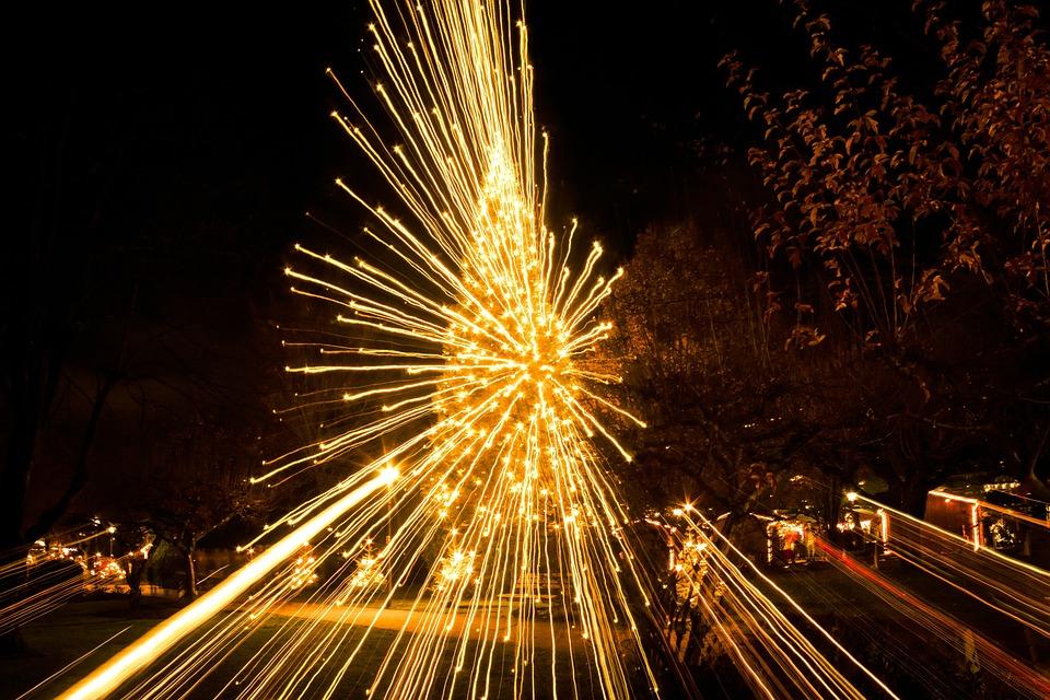 Christmas Market, Christmas Tree, Christmas, Lighting