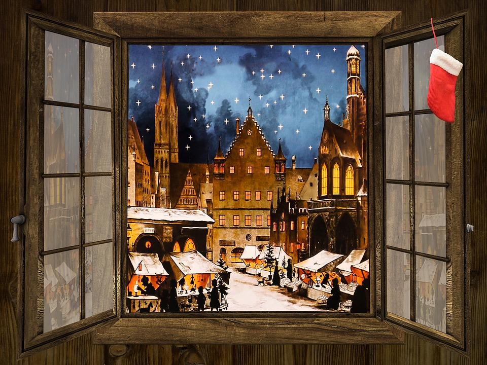 Winter, Christkindlesmarkt, Christmas Market