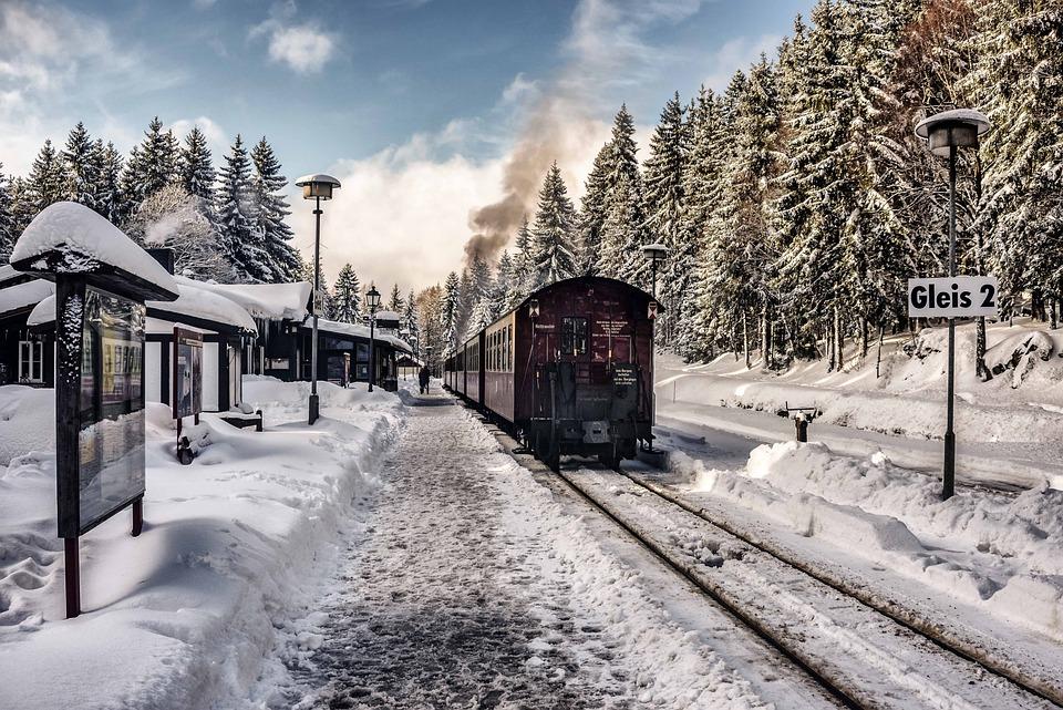 Snow, Winter, Christmas, Nature
