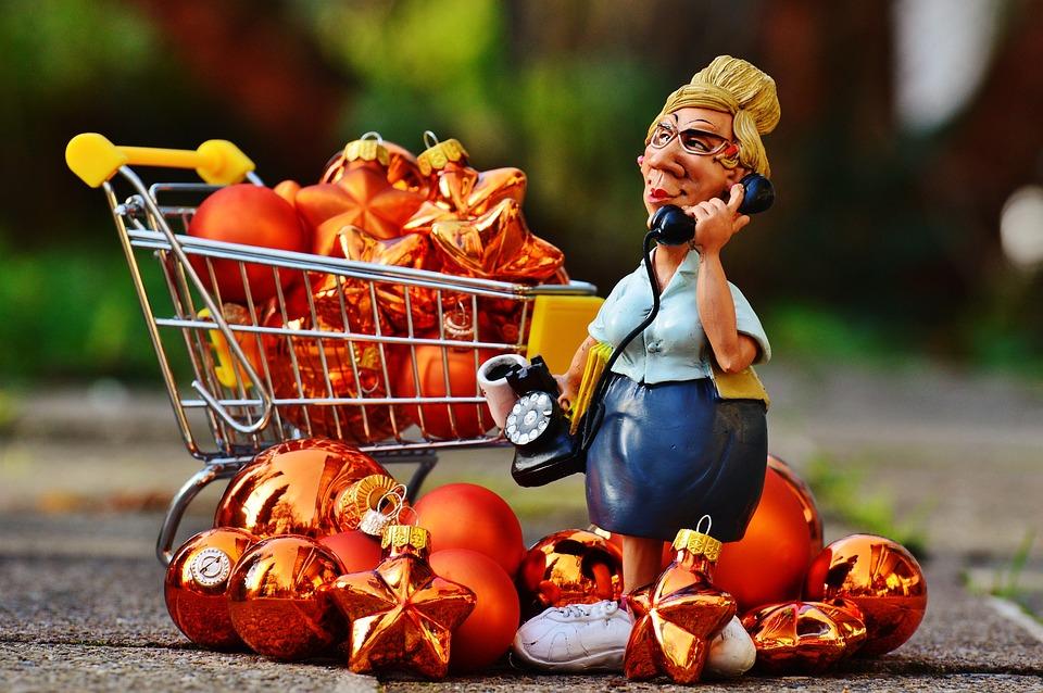 Online Shopping, Christmas, Order, Shopping Cart