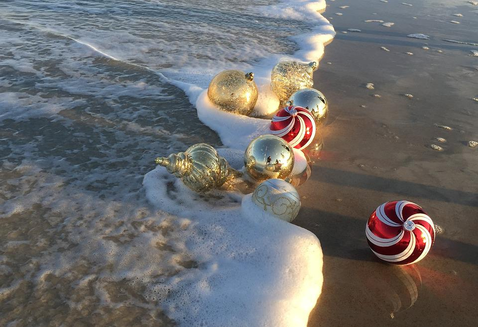 beach christmas ornaments holiday christmas beach - Beach Christmas Ornaments