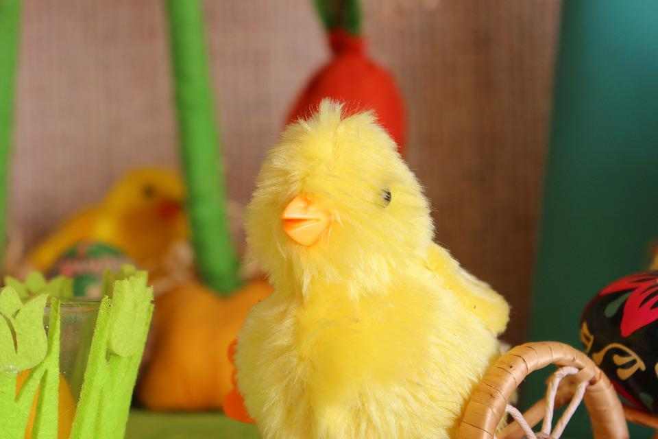 Chick, Easter, Christmas Ornaments