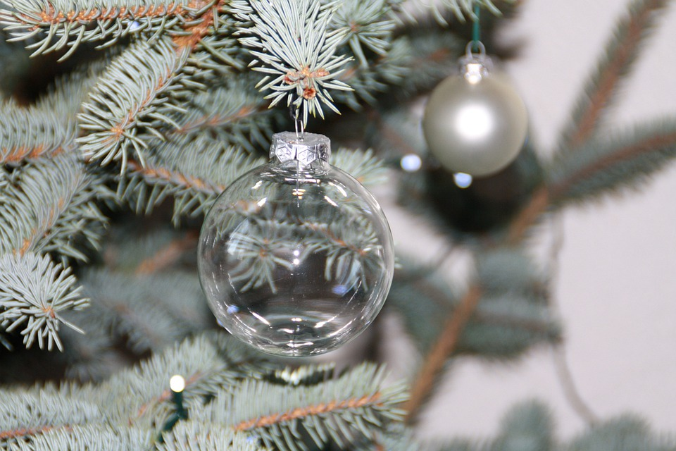 Glass Ball, Christmas Tree, Christmas Ornaments