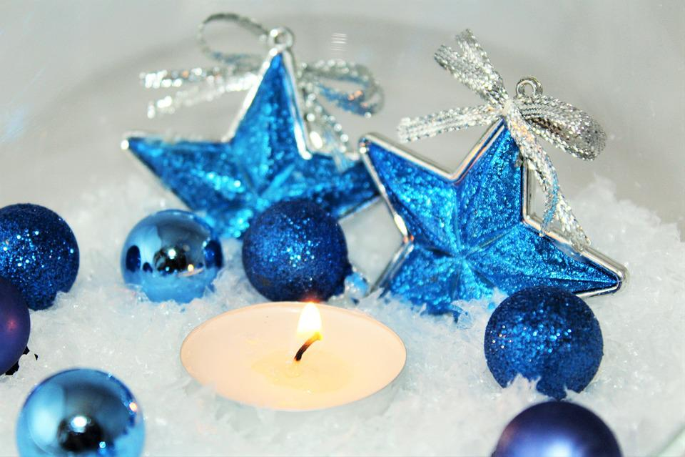 Christmas, Star, Background, Poinsettia, Advent