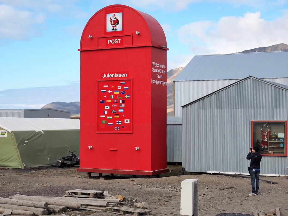 Mailbox, Christmas, Santa Claus, Christmas Post