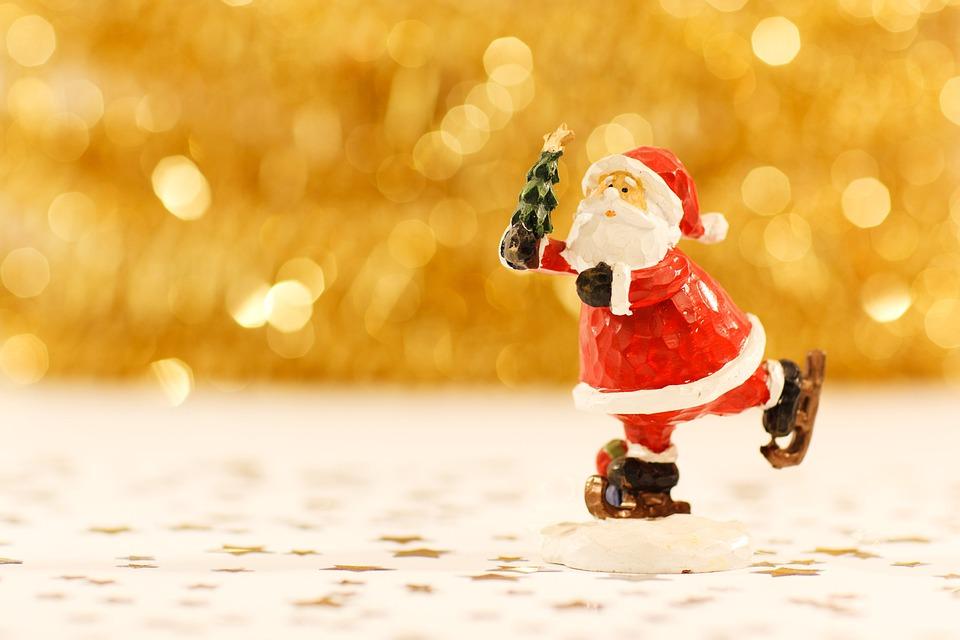 Christmas, Santa Claus, Figurine, Xmas, Santa, Figure