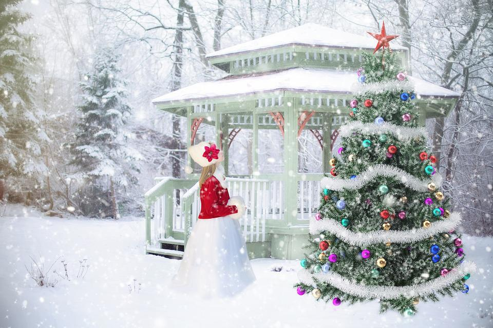 Christmas Background, Backdrop, Christmas Scene