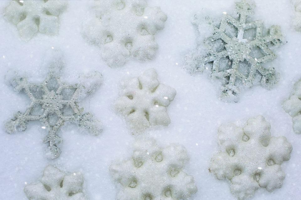 Snow, Snowflake, Winter, Frost, Christmas, Background