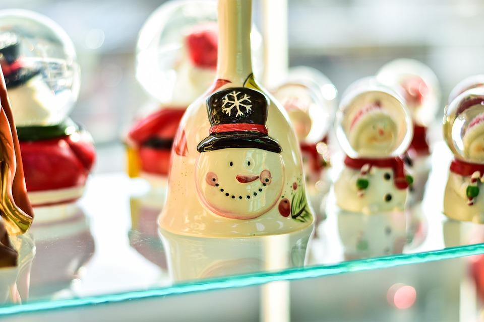 Snowman, Christmas, Ornament Beautiful, Crystal Ball