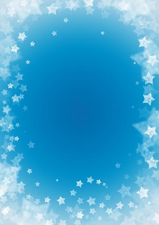 Star, Christmas, Background, Christmas Time, Blue