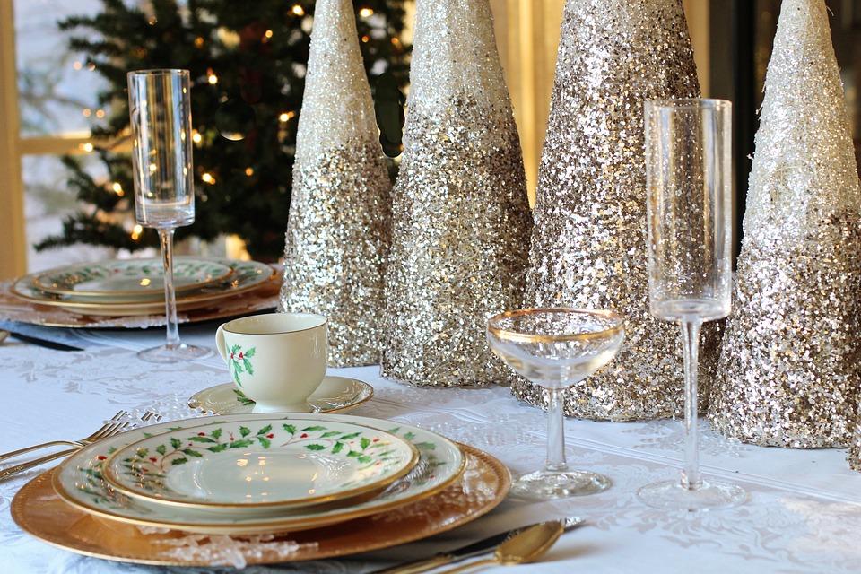 Christmas Dinner Christmas Table Table Setting & Free photo Christmas Table Table Setting Christmas Dinner - Max Pixel