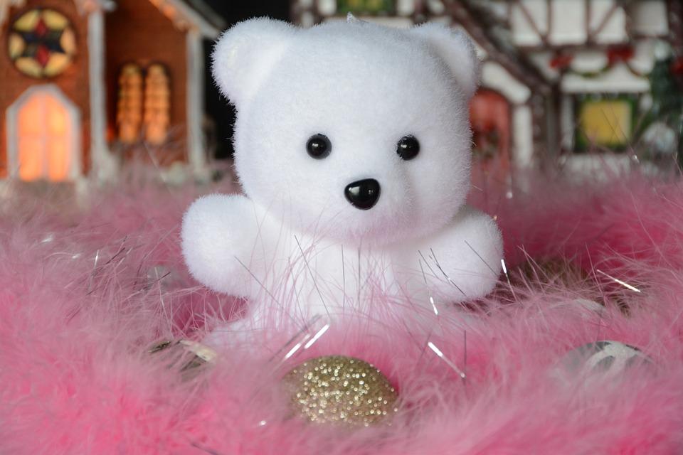 Temy, Bear Cub, Christmas, Decoration