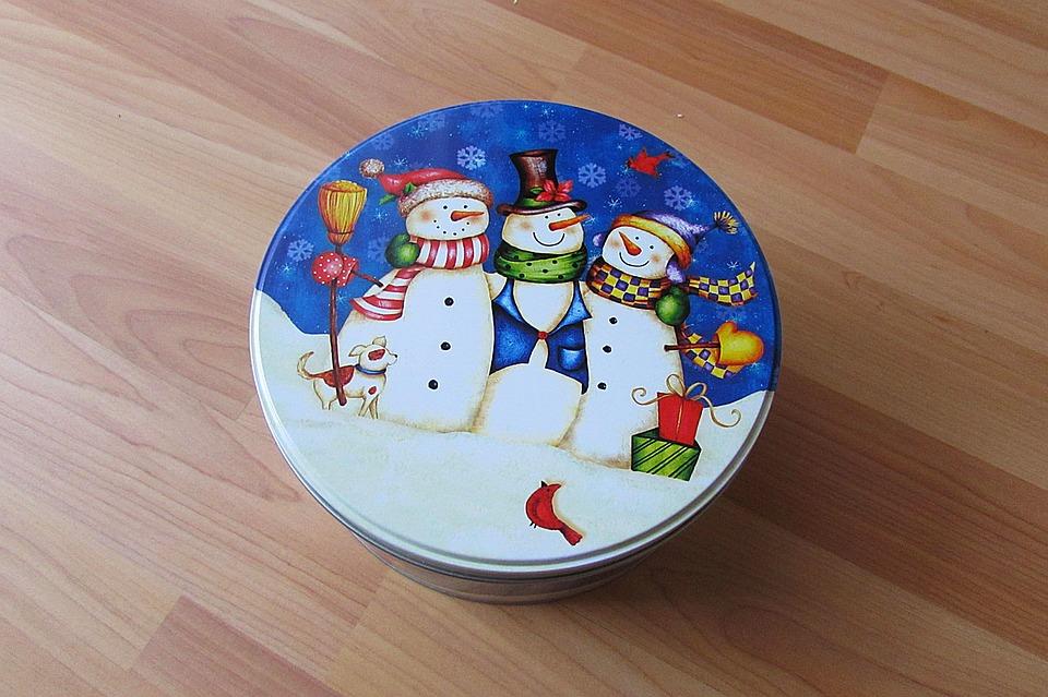 Christmas Box, Cookie Jar, Christmas Themes