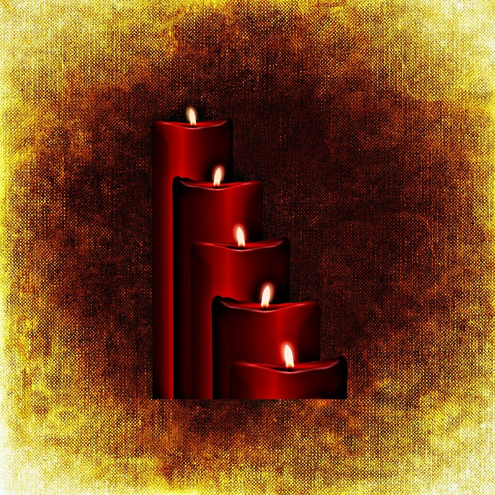 Christmas, Christmas Time, Candles, Star, Mood, Advent
