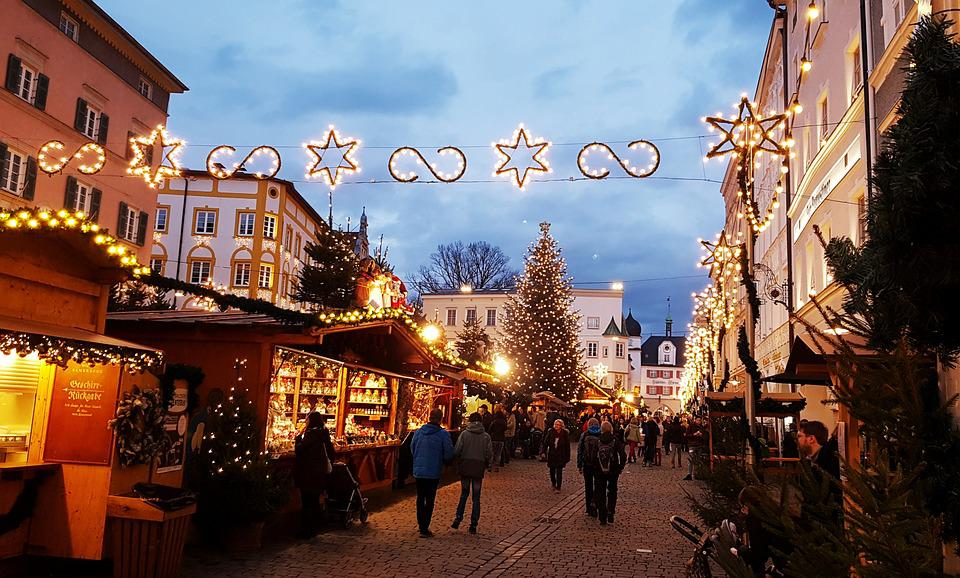 Christmas Market, Star, Christmas Tree, Christmas