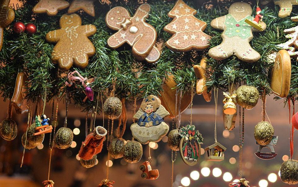 Christmas, Decorations, Ornaments, Christmas Tree