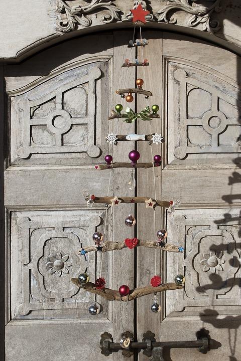 Christmas Tree, Drift Wood, Christmas, Star, Wood Star