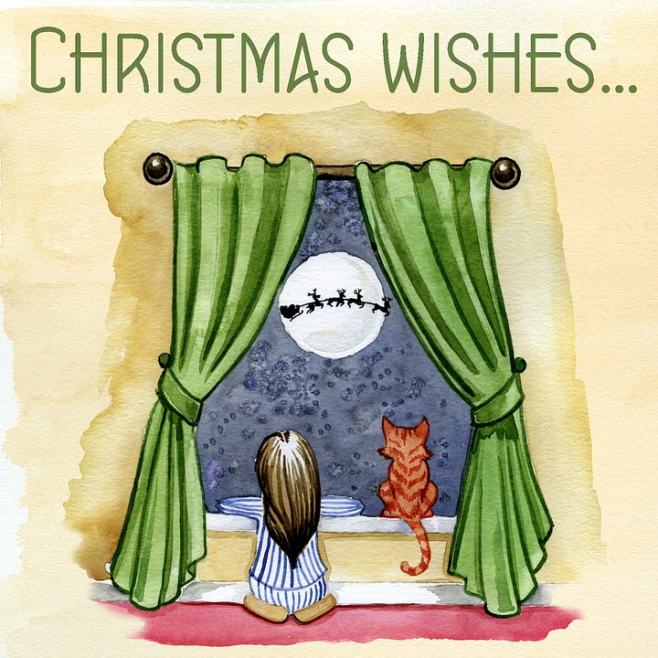 Christmas, Wishes, Happy, Holiday, Year, December