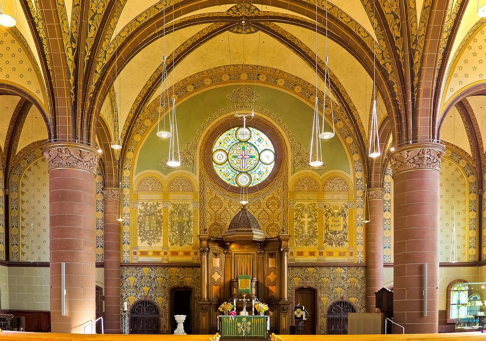 Church, Altar, Christian, Religion, Christianity