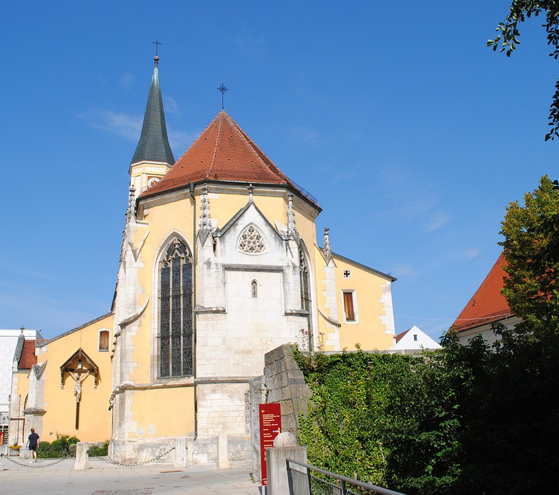 Kelheim, Altmühltal Nature Park, Church