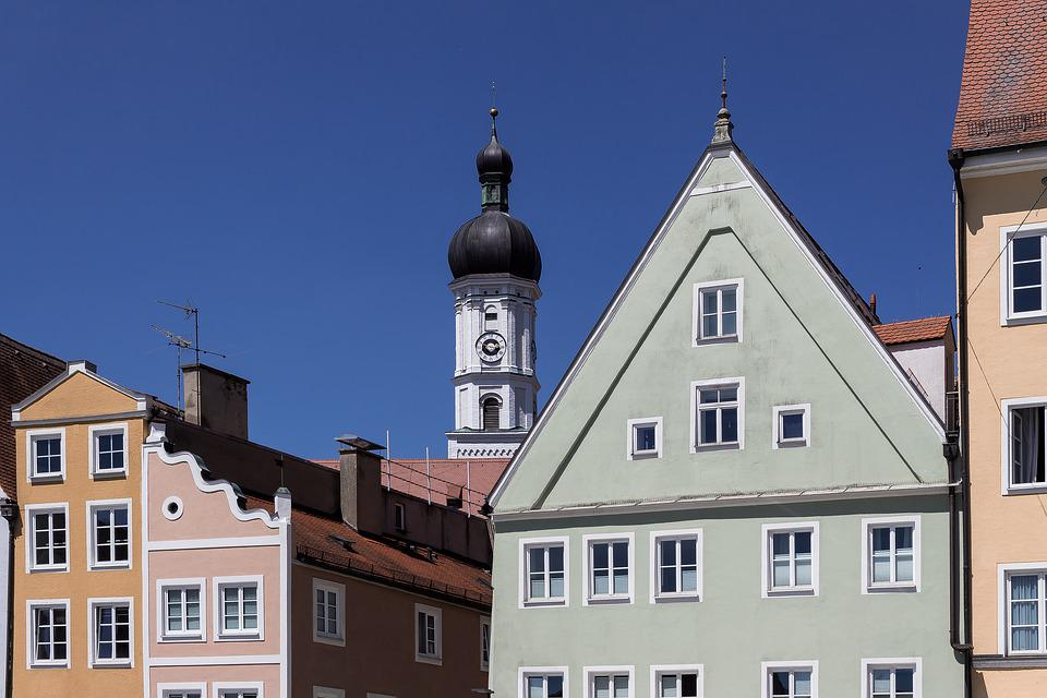 Church, Houses, Architecture, Building, City