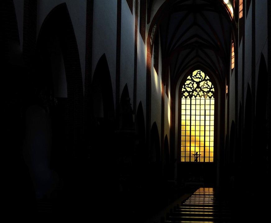 Church, Dark, Architecture