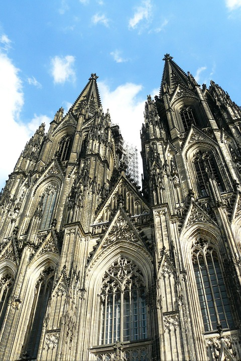 Cologne Cathedral, Dom, Church, Facade, Architecture