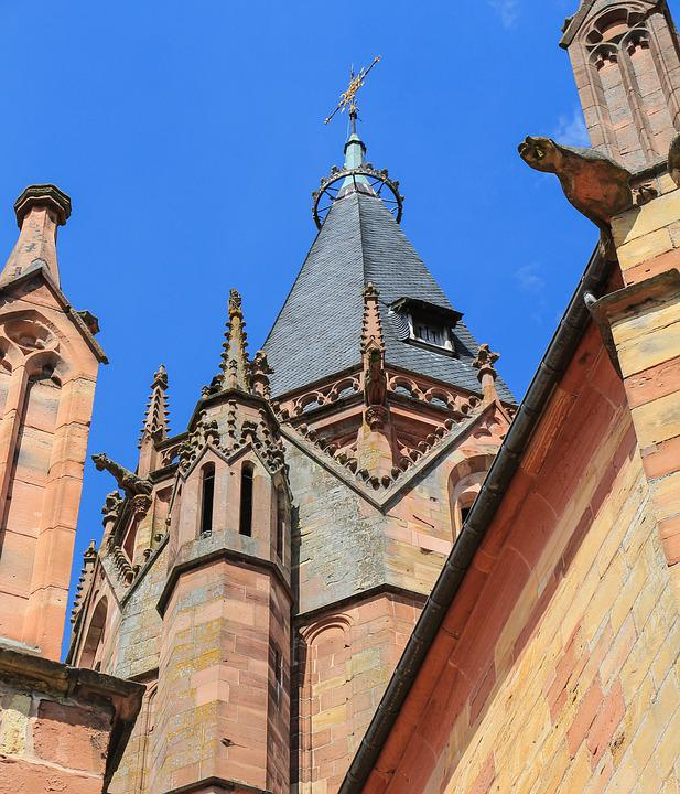 Church, Gothic, Gothic Architecture, Architecture