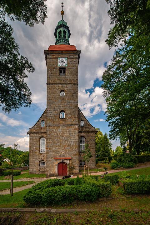 Jonsdorf, Saxony, Church, Germany, Architecture