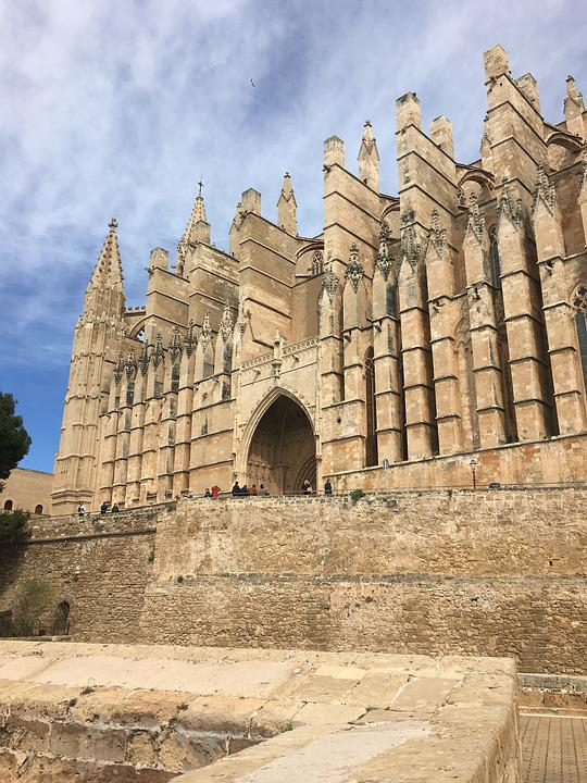 Architecture, Church, Cathedral, Mallorca