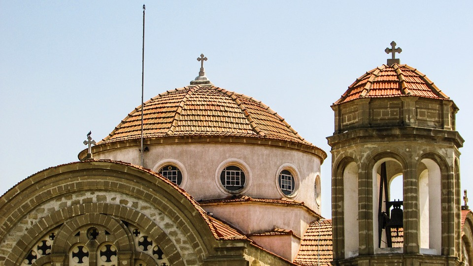 Cyprus, Dali, Church, Orthodox, Architecture, Religion