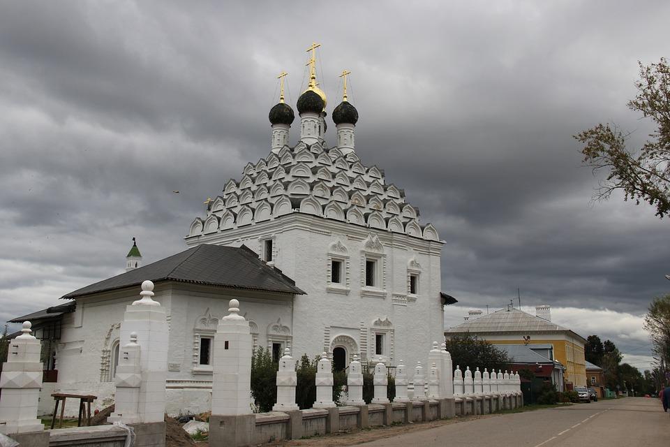 Kolomna, Temple, Church, Russia, Architecture