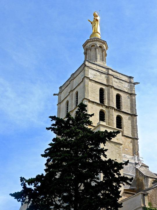 Tower, Church, Spire, Stone, Statue, Tall, Architecture
