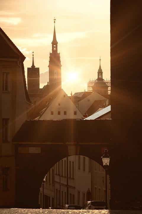 Freiberg, City, Architecture, Travel, Religion, Church