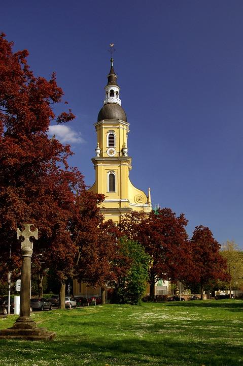 Baroque Church, Church, Baroque, Parish Church