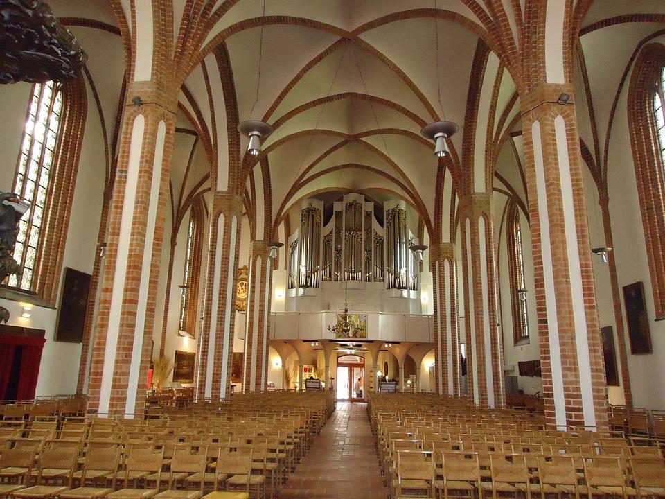 Church, Spandau, Berlin, God, Believe, Christianity