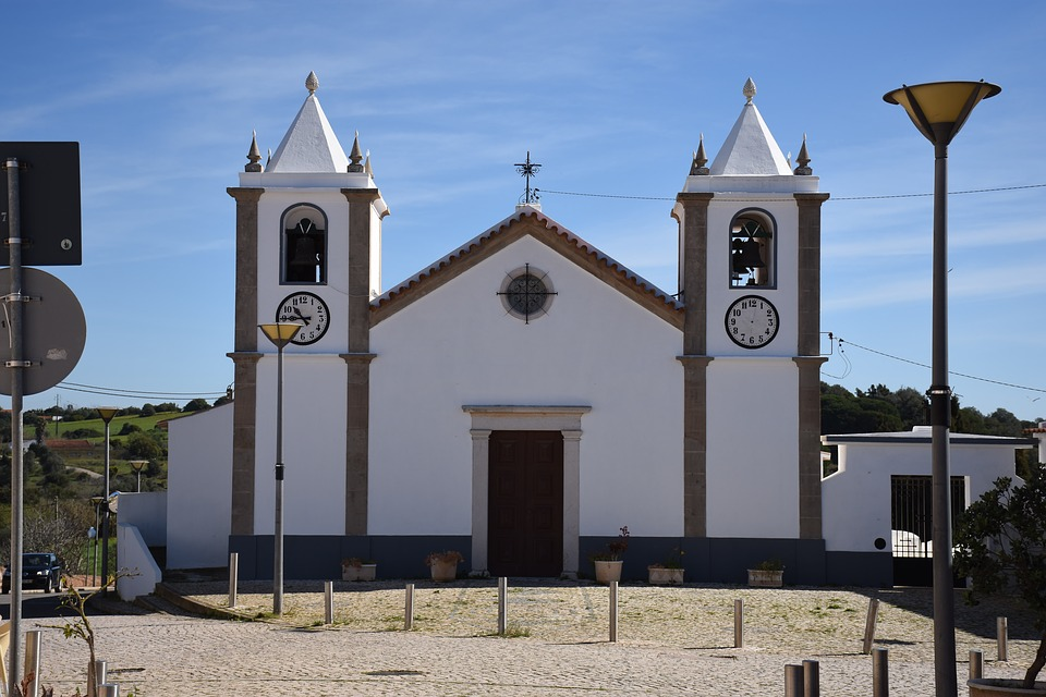 Church, Building, Bell Tower