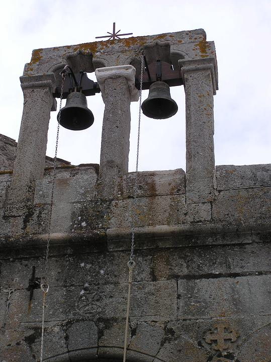Church Bells, Mt Etna, Ruin